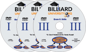 Billiard Univeristy (BU) DVDs