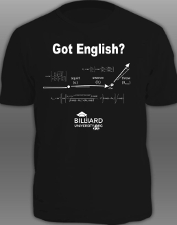 """Got Enlgish?"" T-shirt"